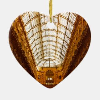 Galleria Vittorio Emanuele II In Milan Christmas Ornament