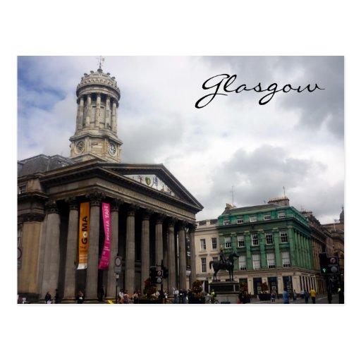 gallery modern art glasgow postcard