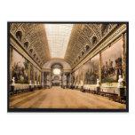 Gallery of Battles, Versailles, France vintage Pho Postcards