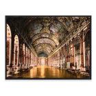 Gallery of Mirrors, Versailles, France vintage Pho Postcard