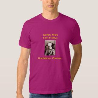Gallery Walk: American Apparel T-Shirt (Color)