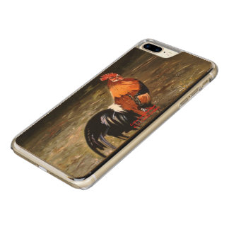 Gallic rooster//Rooster Carved iPhone 8 Plus/7 Plus Case