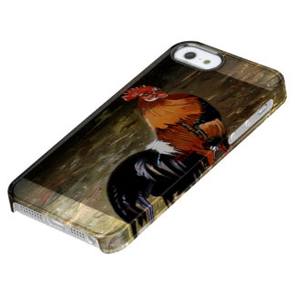 Gallic rooster//Rooster Clear iPhone SE/5/5s Case