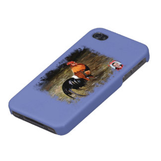 Gallic rooster//Rooster Cover For iPhone 4