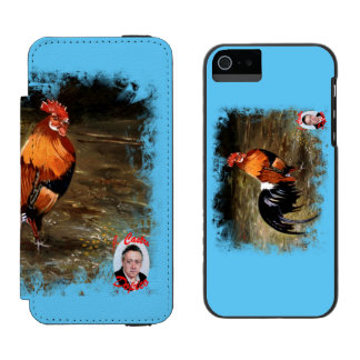 Gallic rooster//Rooster Incipio Watson™ iPhone 5 Wallet Case