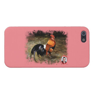 Gallic rooster//Rooster iPhone 5/5S Cases