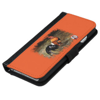 Gallic rooster//Rooster iPhone 6 Wallet Case