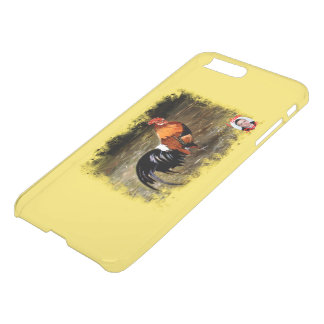 Gallic rooster//Rooster iPhone 8 Plus/7 Plus Case