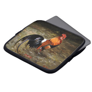 Gallic rooster//Rooster Laptop Sleeve