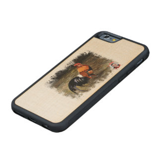 Gallic rooster//Rooster Maple iPhone 6 Bumper