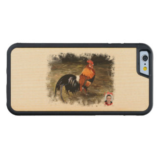 Gallic rooster//Rooster Maple iPhone 6 Bumper Case