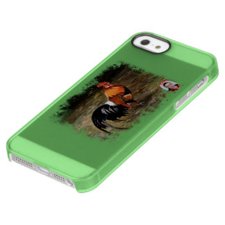 Gallic rooster//Rooster Permafrost® iPhone SE/5/5s Case