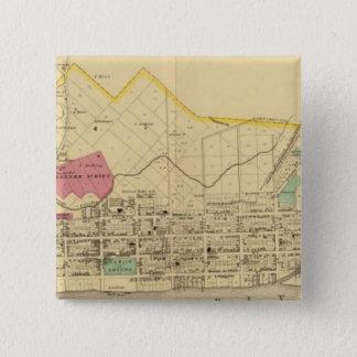 Gallipolis, Ohio 15 Cm Square Badge