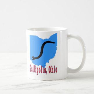 Gallipolis, Ohio Basic White Mug