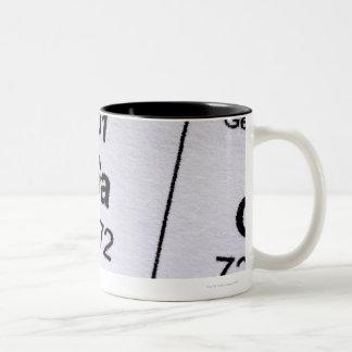 Gallium molecular formula coffee mug