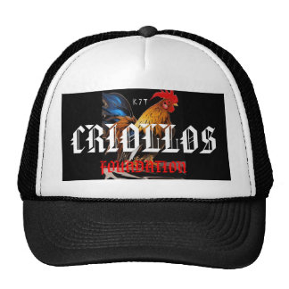 gallo, CRIOLLOS , FOUNDATION Trucker Hat