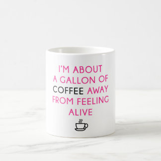 Gallon Coffee Coffee Mug