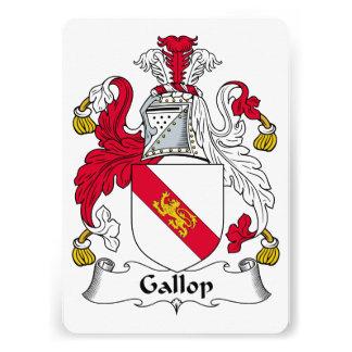 Gallop Family Crest Personalized Invitations