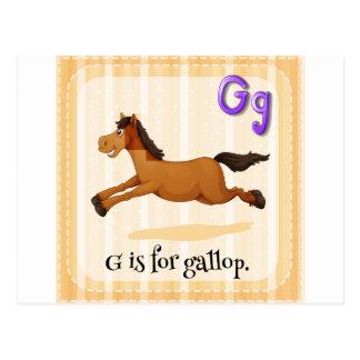 Gallop Postcard