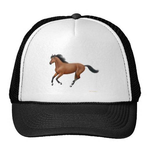 Galloping Bay Horse Hat