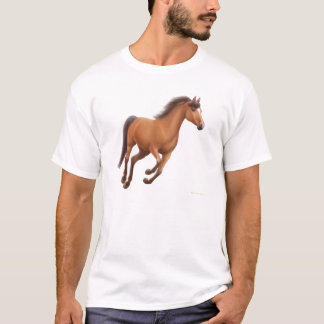 Galloping Bay Horse T-Shirt