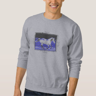 Galloping Beyond the Blue Horizon Sweatshirt