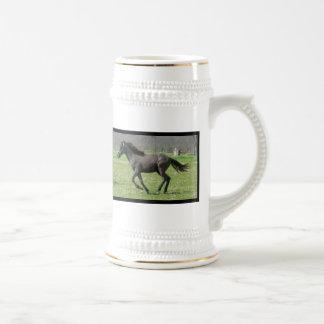 Galloping Colt Beer Stein Coffee Mug