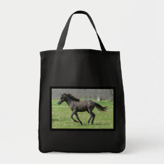 Galloping Colt Grocery Tote Canvas Bag