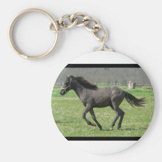 Galloping Colt Keychain