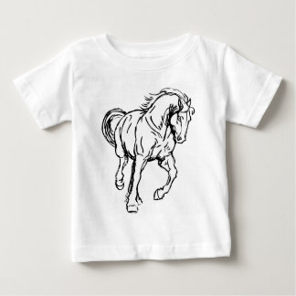 Galloping Draft Horse Shirt