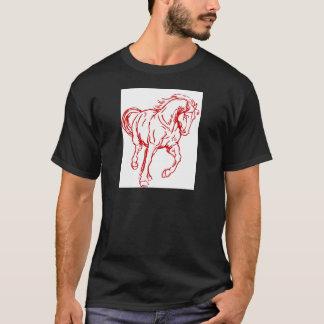 Galloping Draft Horse T-Shirt