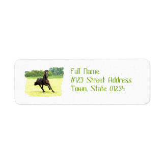 Galloping Horse Address Labels