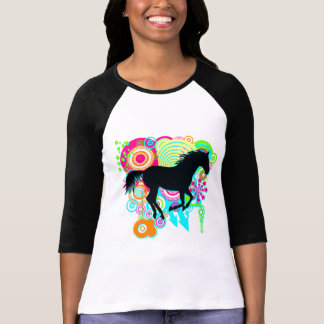 Galloping Horse Silhouette T-shirt