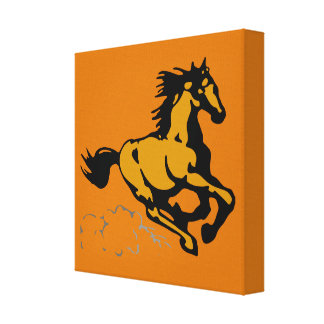 Galloping Horse Wild and Free Canvas Prints