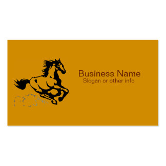 Galloping Horse Wild and Free Pack Of Standard Business Cards