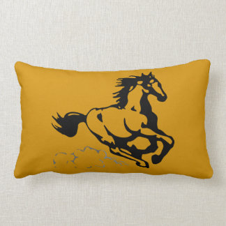 Galloping Horse Wild and Free Throw Cushion