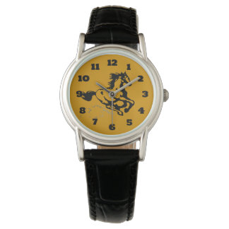 Galloping Horse Wild and Free Wrist Watch