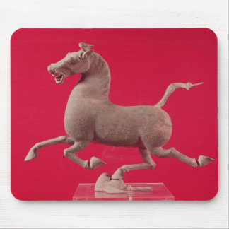 Galloping horse with one Hoof Resting on a Mouse Mat