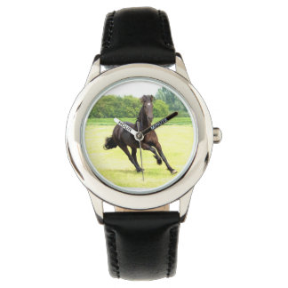 Galloping Horse Wrist Watches