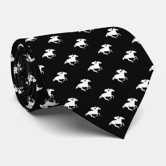 Galloping Horseman Pattern | Derby Tie