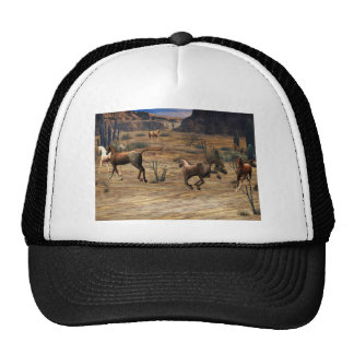 Galloping Horses Cap