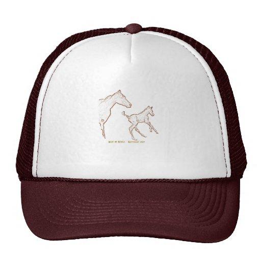 Galloping Horses Hats