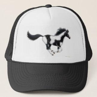 Galloping Paint Horse Trucker Hat