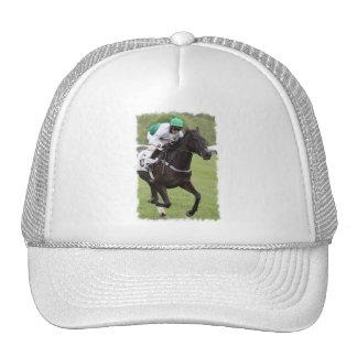 Galloping Race Horse Baseball Hat