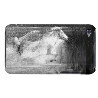 Galloping White Water Horse iPod Touch Cover