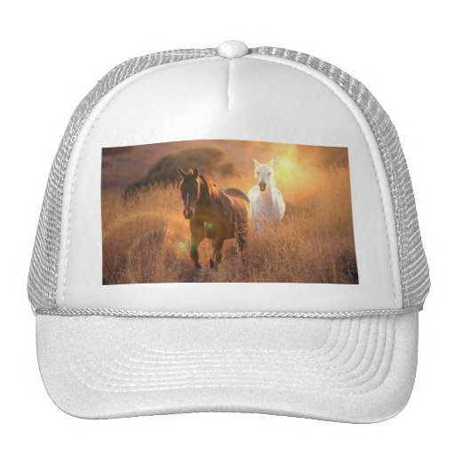 Galloping Wild Horses Baseball Hat