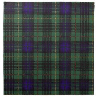 Galloway clan Plaid Scottish kilt tartan Napkin