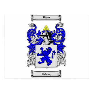 Galloway Coat of Arms Postcard