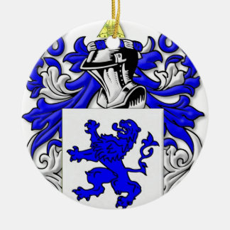 Galloway Coat of Arms Round Ceramic Decoration