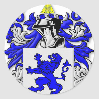 Galloway Coat of Arms Round Sticker